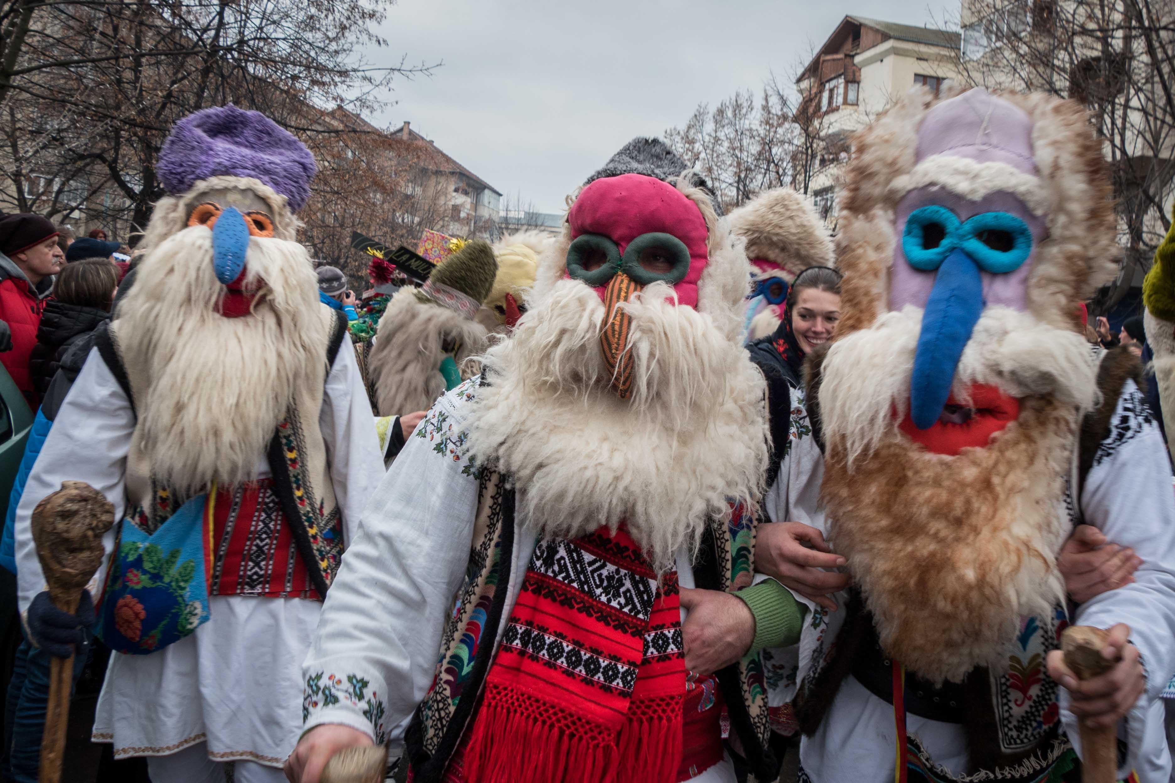 Winter festival in Sighet - Christmas Photo Tour in Maramures, Romania