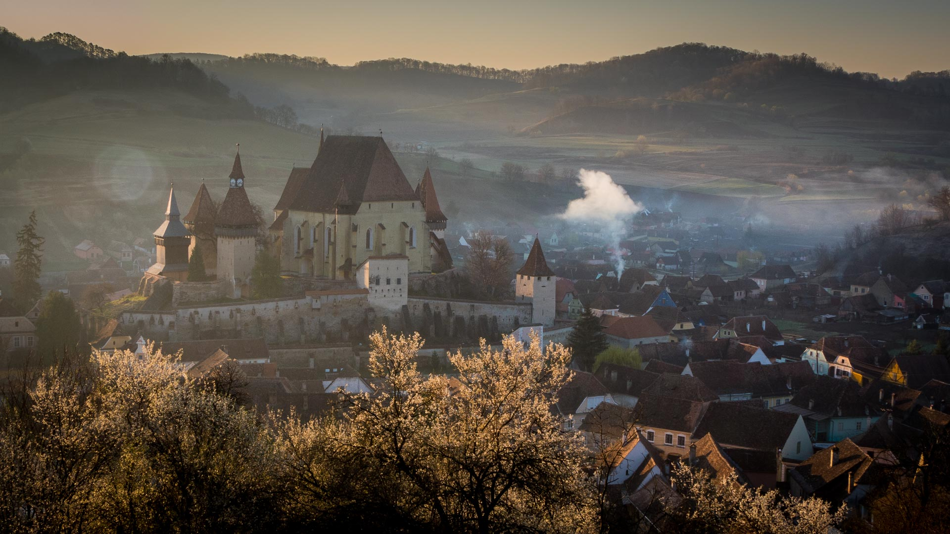 Captivating photos of Romania in spring - Biertan Fortified church