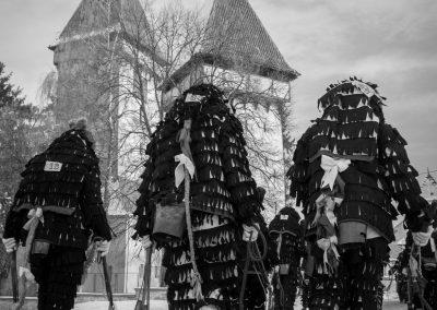 Fuga Lolelor festival, a Saxon custom