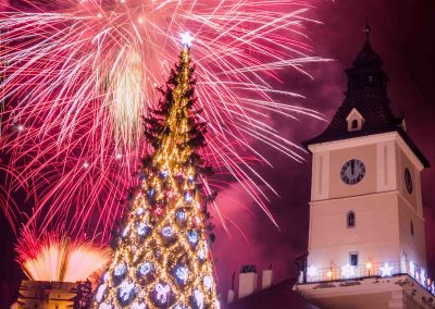 New Year's Eve in Brasov