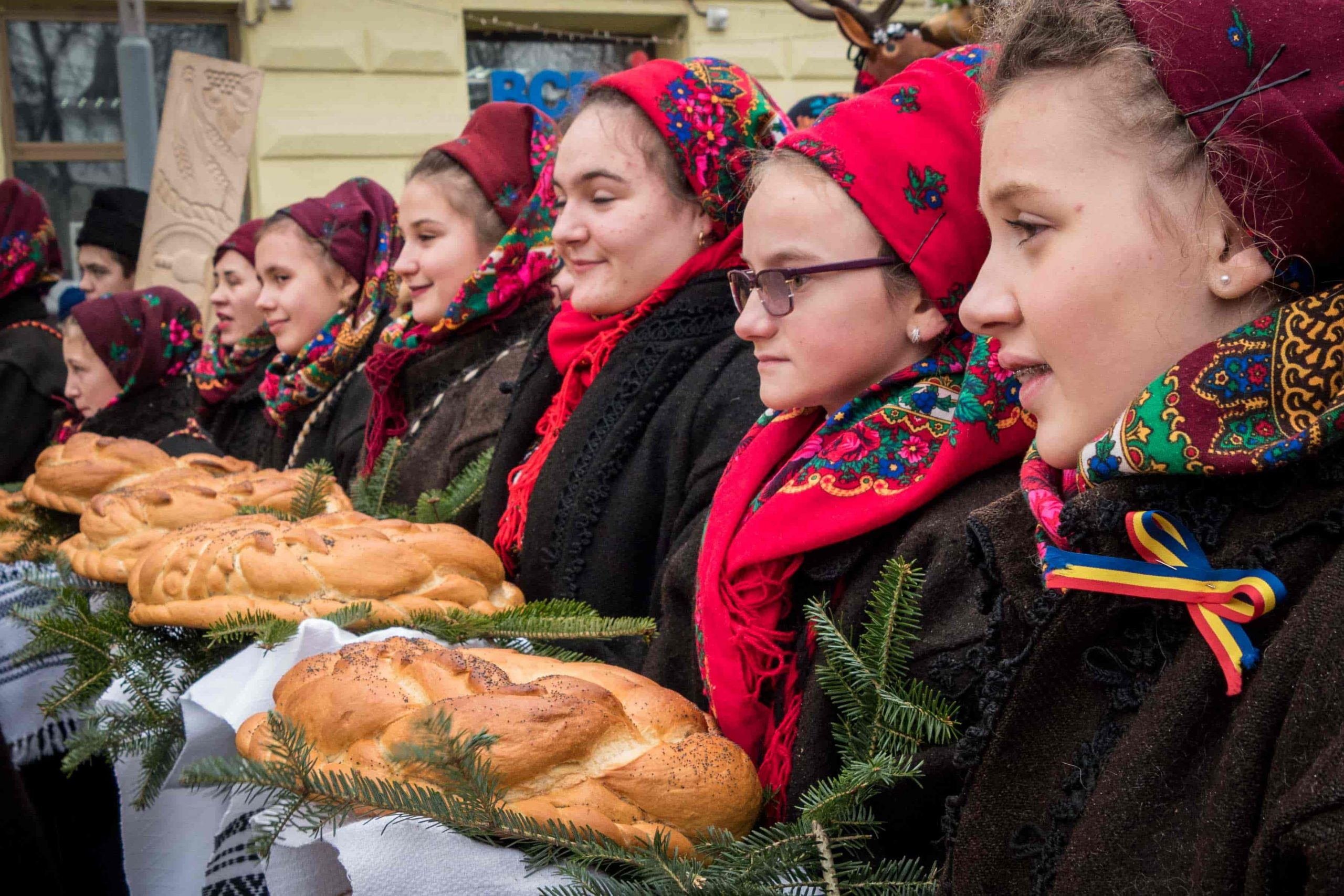 Proud to be Romania - Bread and salt