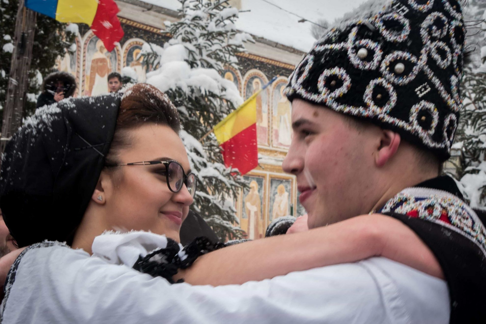 Proud to be Romania - Cold and snow