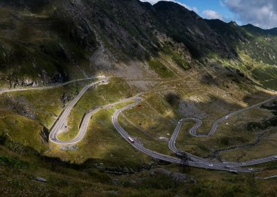 Transfagarasan Road in summer