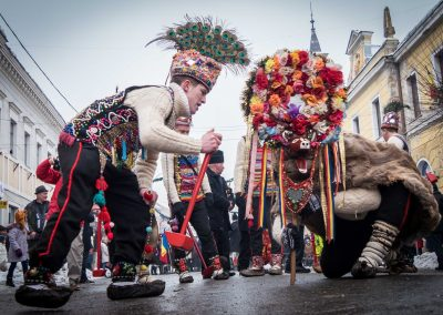 Winter traditions in Maramures