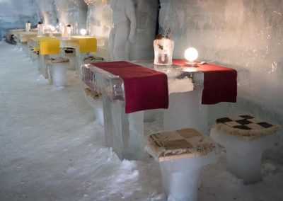 Restaurant of the Ice Hotel