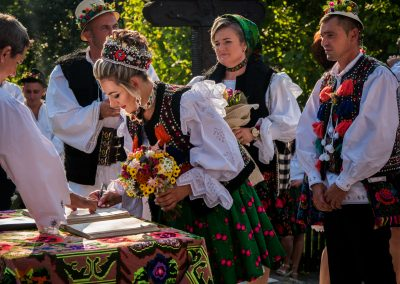 Traditional wedding in Maramures