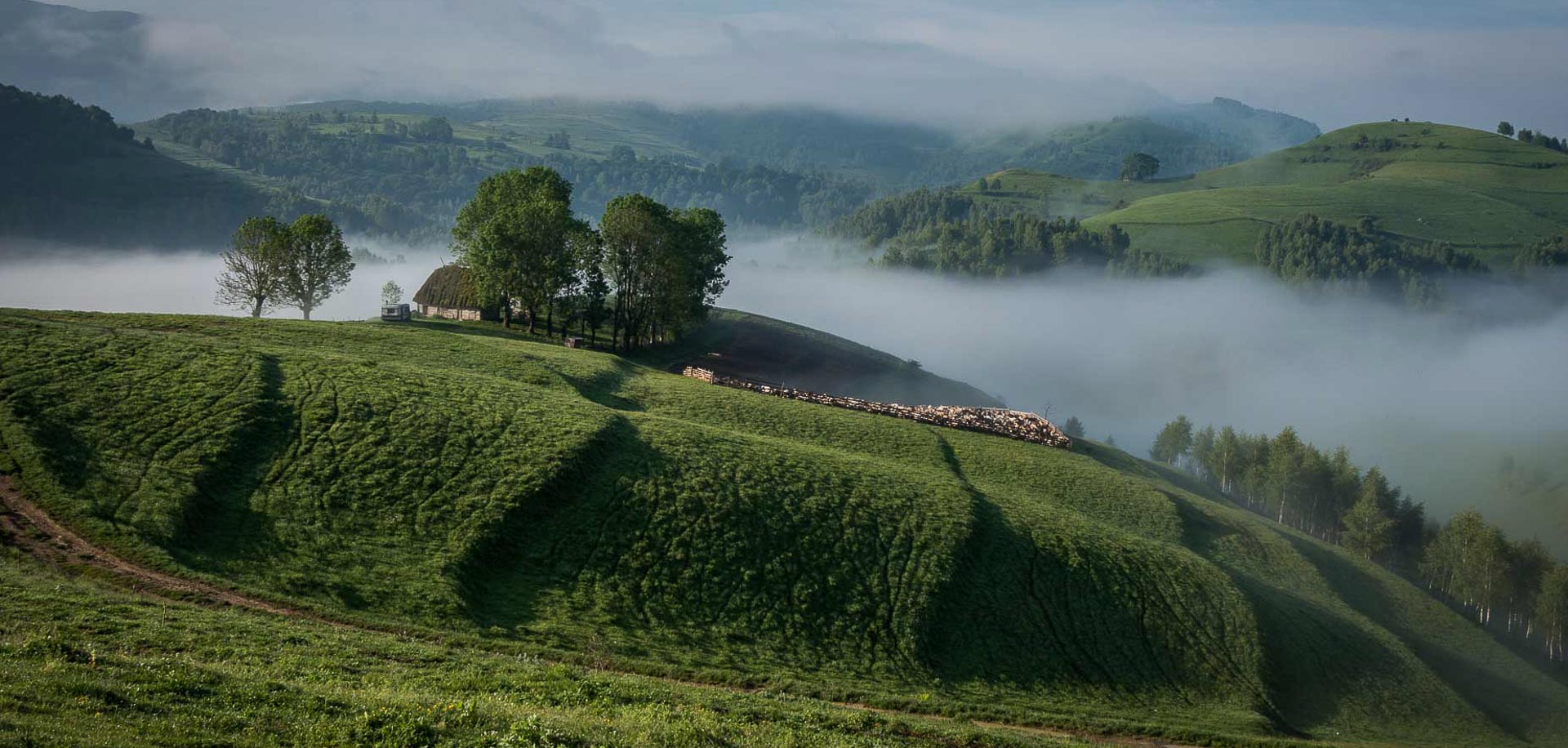 Romania Photo Tours - Steam train in Maramures