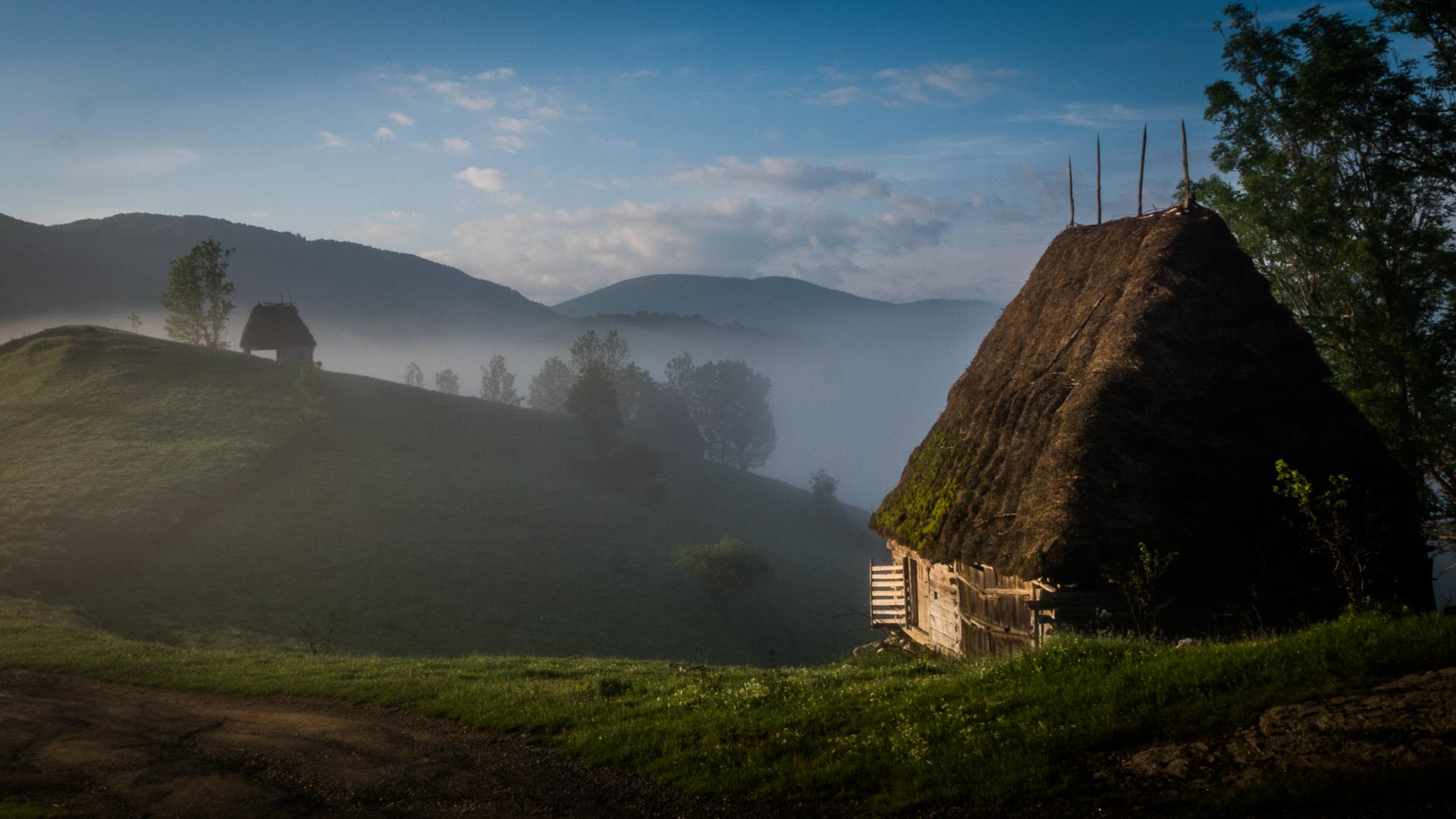 Landscape in Apuseni Mountains