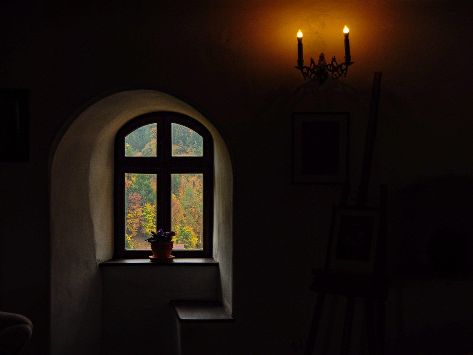 Inside the Bran Castle