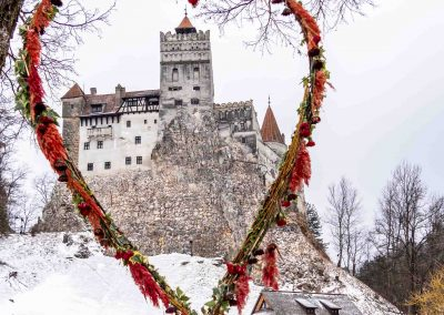 Valentine's Day at Bran Castle