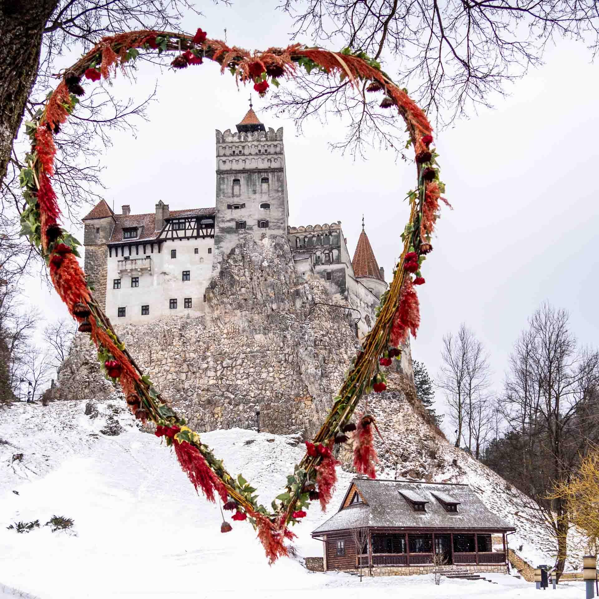 Valentine's Day at Bran Castle