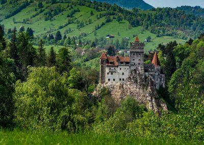Summer at Bran Castle
