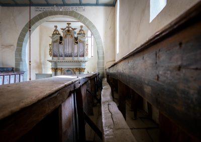 Interior of Viscri Fortified Church