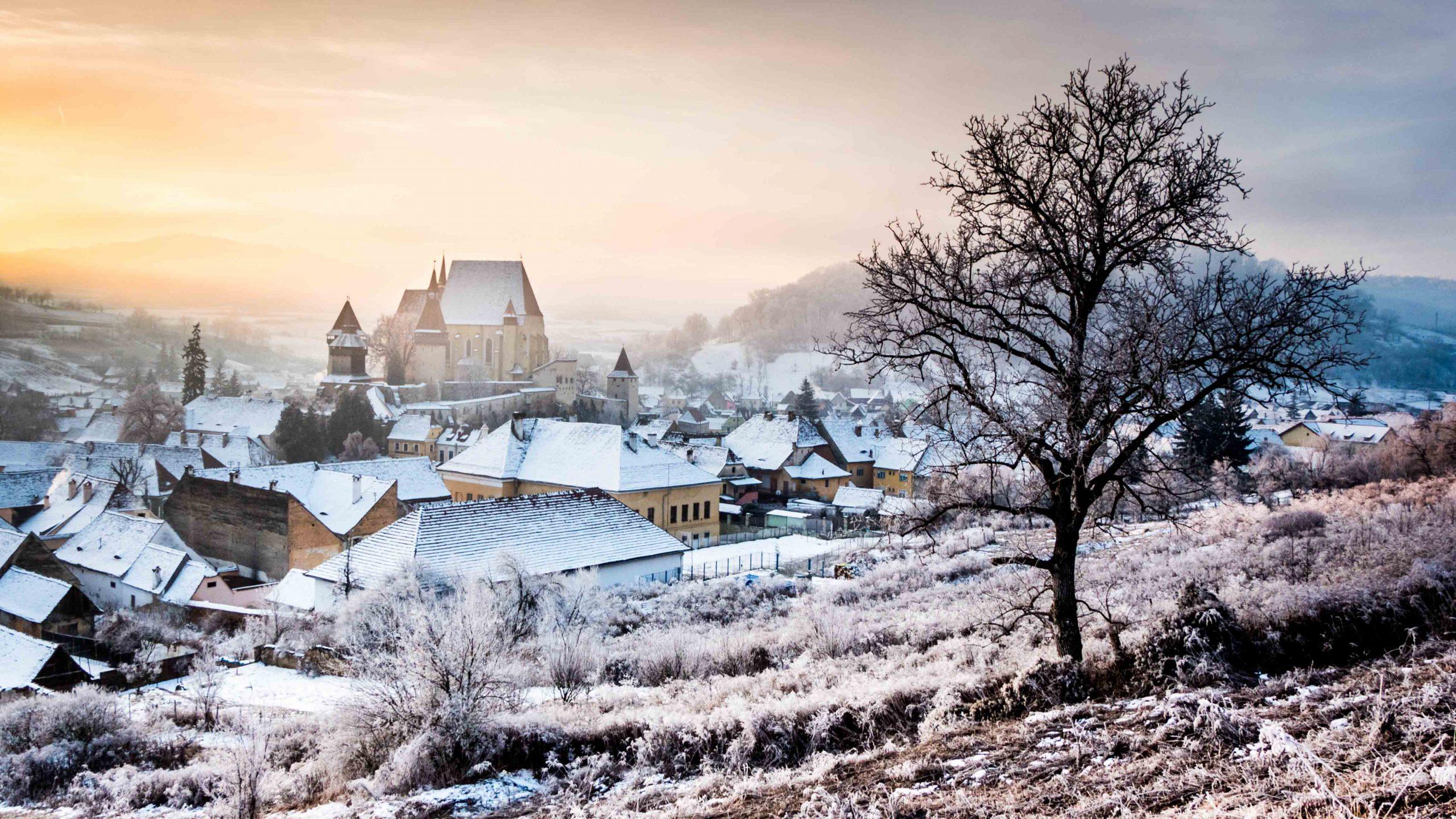 Iarna la Biertan