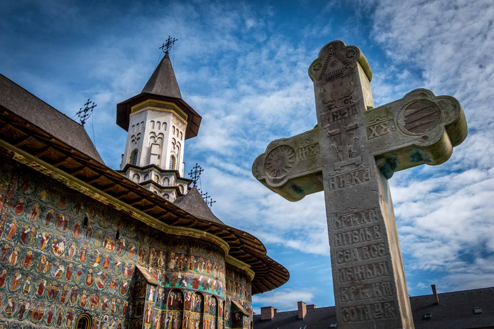 Painted Monastery in Bucovina
