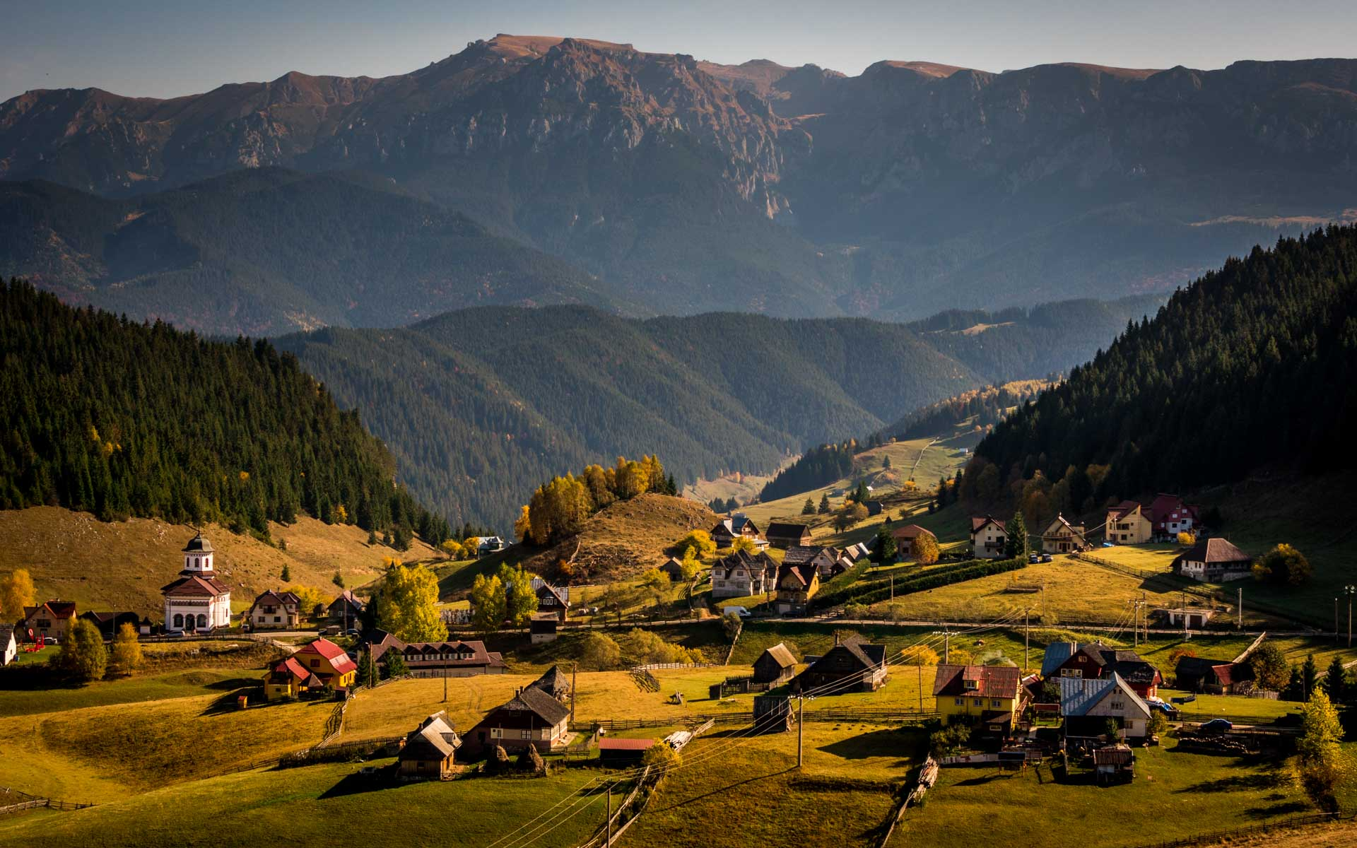 Village in Transylvania region