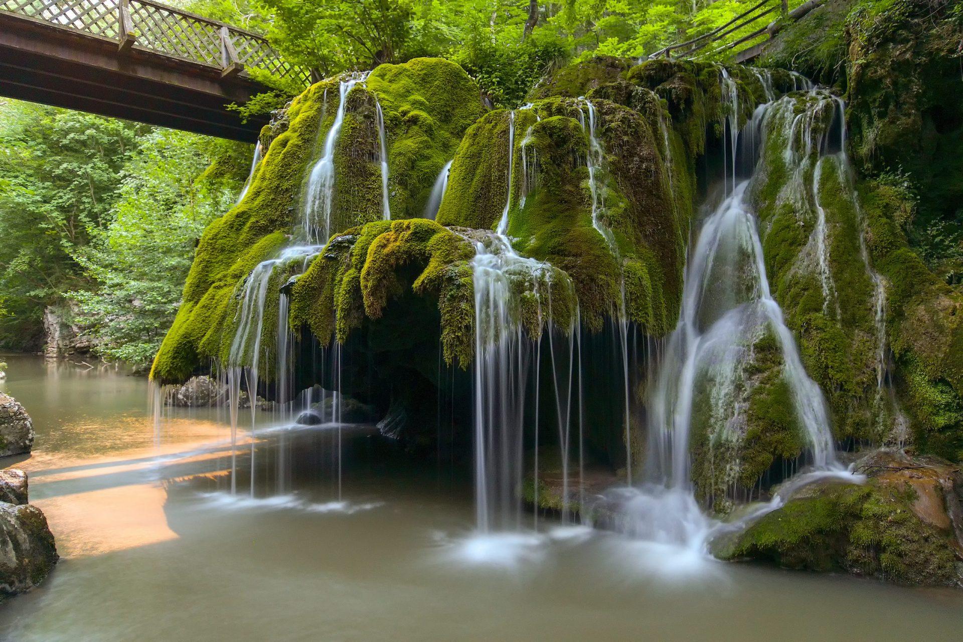 Bigar Waterfall - Self drive tour of Romania