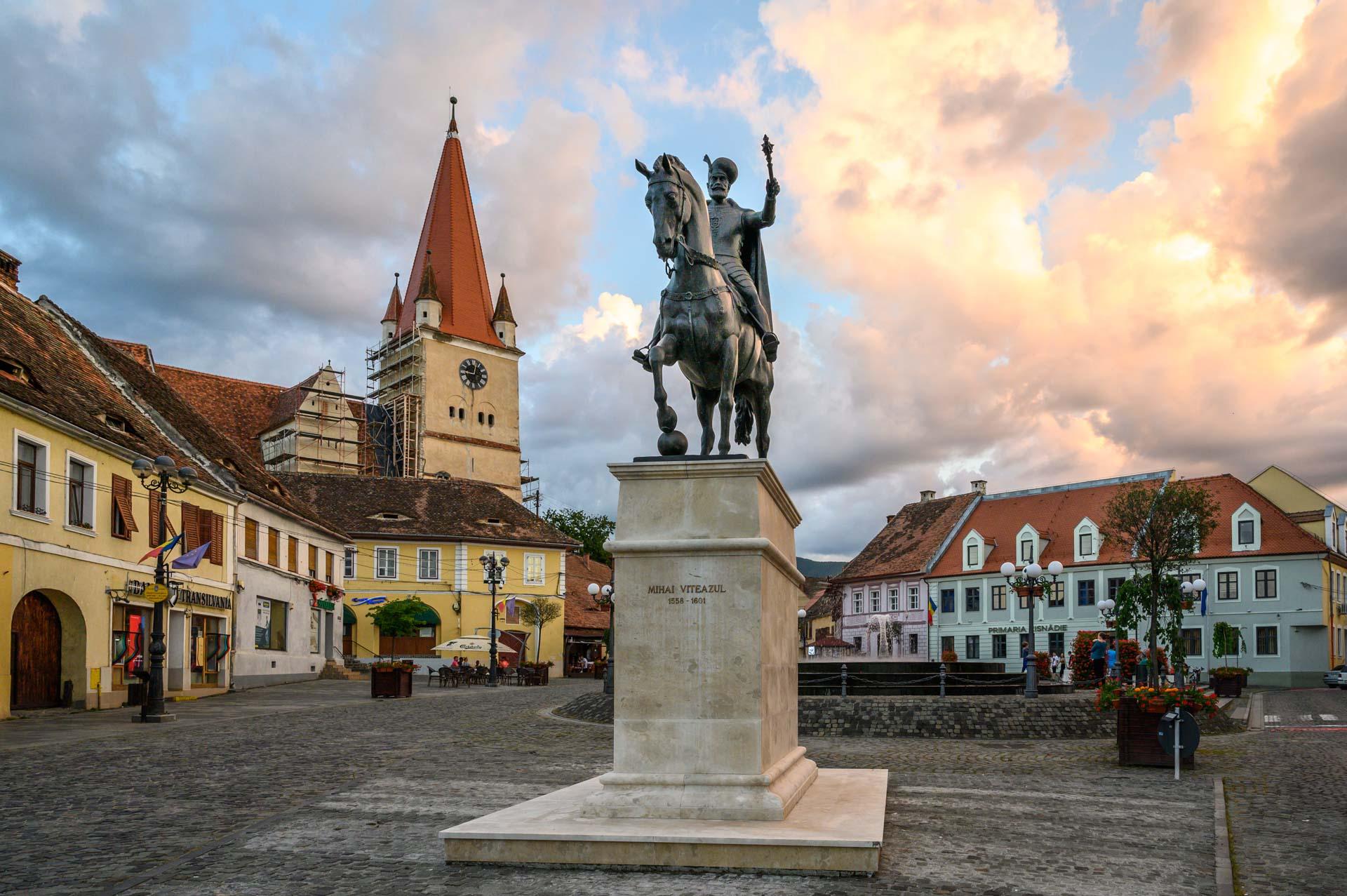 City Center in Cisnadie