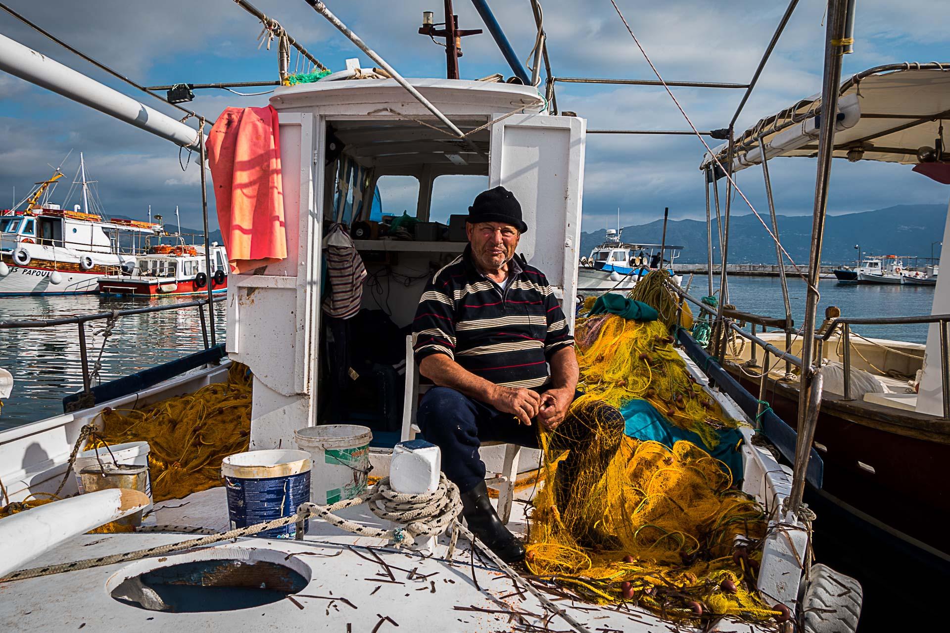 Pescar in Grecia